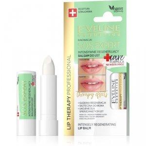 Eveline Lip Therapy S.O.S. Expert Intensywnie regenerujący balsam do ust Care Formula  1szt