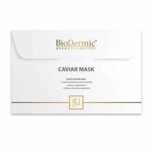 BioDermic Caviar Extract Maska na twarz na tkaninie z ekstraktem z kawioru 25ml