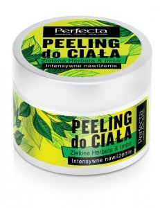 Perfecta Spa Peeling do ciała Zielona Herbata & Imbir - intensywne nawilżenie  225g