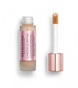 Makeup Revolution Conceal & Define Foundation Podkład kryjący F8  23ml