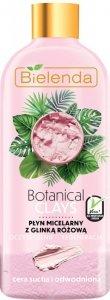 Bielenda Botanical Clays Różowa Glinka Płyn micelarny do twarzy 500ml