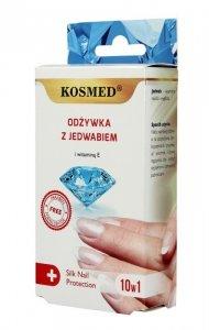 Kosmed Odżywka do paznokci z jedwabiem i witaminą E 10w1  9ml