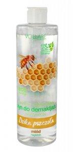 Vollare Dzika Pszczoła Płyn do demakijażu twarzy i oczu naturalnie oczyszczający  400ml