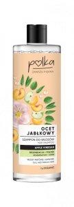 POLKA Ocet Jabłkowy Szampon do włosów Regeneracja + Połysk 400ml