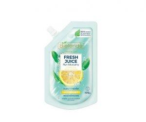 Bielenda Fresh Juice Płyn micelarny orzeźwiający z wodą cytrusową Yuzu 45ml - doypack