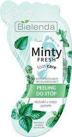Bielenda Minty Fresh Foot Care Peeling do stóp odświeżająco-wygładzający 10ml