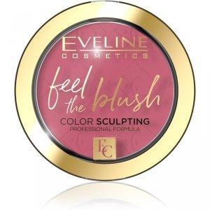 Eveline Feel the Blush Róż do policzków nr 03 Orchid  1szt