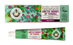 Receptury Babuszki Agafii Pasta do zębów odświeżająca Arctic Berry of Tundra 85g