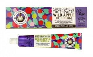 Receptury Babuszki Agafii Pasta do zębów mocne zęby i dziąsła Wild Apple of Siberia 85g