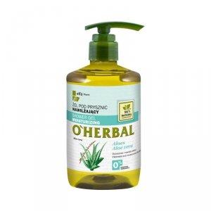 Elfa Pharm O'Herbal Żel pod prysznic nawilżający Aloes  750ml
