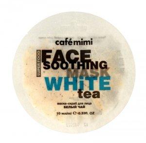 Cafe Mimi Face Soothing Maseczka - scrub do twarzy Biała Herbata & Lotos  10ml