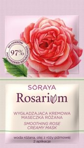 Soraya Rosarium Różana Maseczka kremowa wygładzająca 2x5ml - saszetka