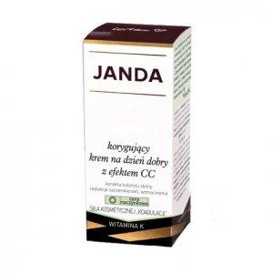 JANDA Cera Naczynkowa Krem korygujący z efektem CC na dzień dobry 50ml