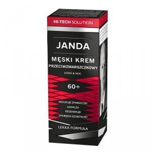 JANDA Men Męski Krem przeciwzmarszczkowy 60+ na dzień i noc 50ml