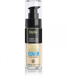 Delia Cosmetics Stay Flawless Cover Podkład kryjący 16H nr 502 Natural 30ml