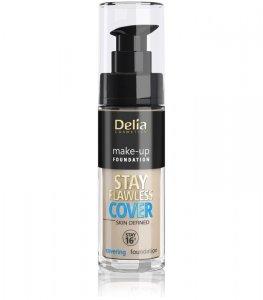 Delia Cosmetics Stay Flawless Cover Podkład kryjący 16H nr 505 Honey 30ml