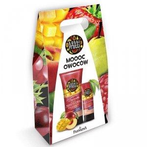 Farmona Zestaw prezentowy Tutti Frutti Brzoskwinia&Mango (krem do rąk 75ml+balsam do ciała 200ml)