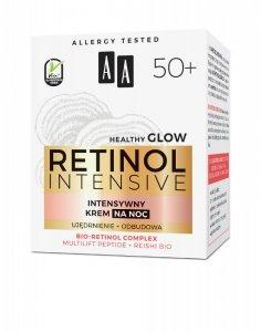 AA Retinol Intensive 50+ Intensywny Krem na noc - ujędrnienie + odbudowa 50ml