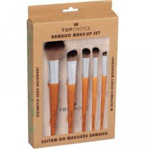 Top Choice  Zestaw pędzli do makijażu (5) Bamboo (37474)  1op.-5szt