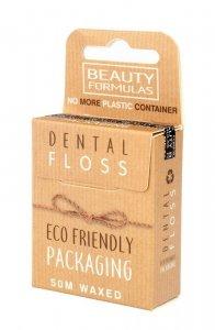 Beauty Formulas Eco Friendly Nić dentystyczna woskowana 1op.-50m