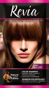 Revia Szampon koloryzujący do włosów nr 10 Orzech Laskowy  1op.