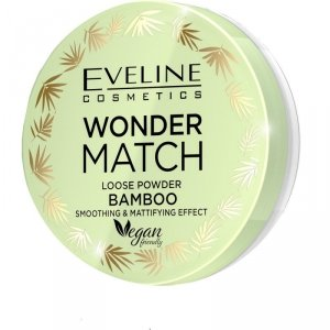 Eveline Wonder Match Puder sypki matująco - wygładzający Bamboo  1szt