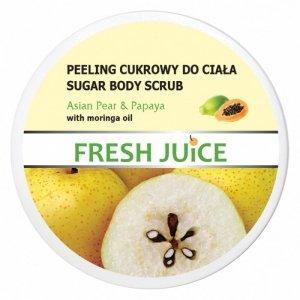 Fresh Juice Peeling cukrowy do ciała Asian Pear & Papaya  225ml