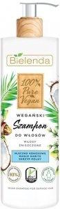 Bielenda 100% Pure Vegan Wegański Szampon do włosów zniszczonych 400g