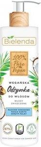 Bielenda 100% Pure Vegan Wegańska Odżywka do włosów zniszczonych 240ml