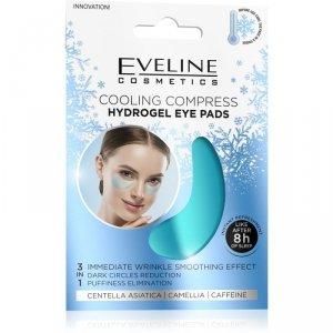 Eveline Hydrogel Eye Pads Hydrożelowe Płatki pod oczy - chłodzący kompres  1op.-2szt