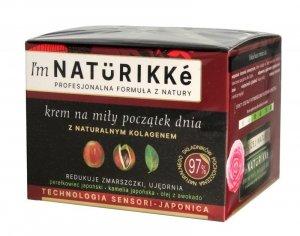 I'm Naturikke Krem na miły początek dnia z naturalnym kolagenem 50ml