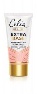 Celia De Luxe Baza pod makijaż wygładzająco-rozświetlająca Extra Base  30ml