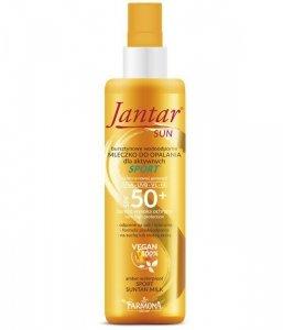 Farmona Jantar Sun Mleczko do opalania SPORT dla aktywnych SPF50+ - bursztynowe wodoodporne 200mll