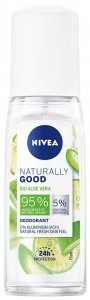 Nivea Dezodorant damski Naturally Good Bio Aloe Vera - atomizer 75ml