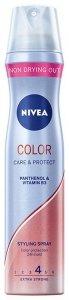 Nivea Hair Care Styling Lakier do włosów Color Care & Protect  250ml
