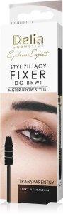 Delia Cosmetics Eyebrow Expert Stylizujący Fixer do brwi - transparentny 11ml