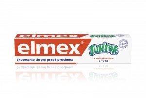 Elmex Pasta do zębów dla dzieci Junior 5-12 lat  75ml