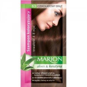 Marion Szampon koloryzujący 4-8 myć nr 63 czekoladowy brąz