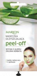 Marion Spa Maseczka Peel Off  Oczyszczająca - Aloes i Zielona Herbata 18ml