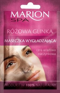 Marion Spa Maseczka na twarz z Różową Glinką Wygładzająca 8g