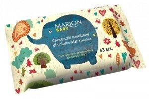 Marion Chusteczki nawilżane dla niemowląt  1op-63szt