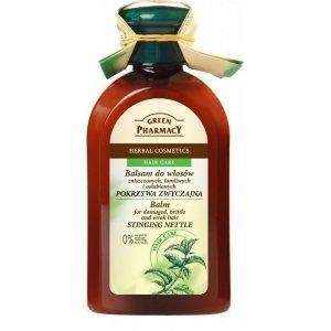 Green Pharmacy Balsam do włosów zniszczonych, łamliwych, osłabionych Pokrzywa zwyczajna