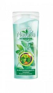 Joanna Naturia mini Szampon do włosów Pokrzywa i Zielona Herbata 100 ml