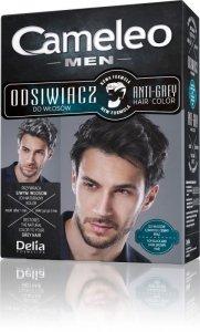 Delia Cosmetics Cameleo Odsiwiacz dla mężczyzn do włosów czarnych i ciemnego brązu  1op