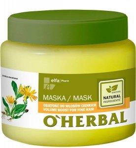 O`Herbal Maska do włosów cienkich  500ml
