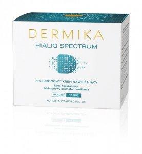 Dermika HialiQ Spectrum 30+ Hialuronowy krem nawilżający na dzień i noc  50ml