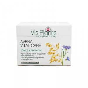 Vis Plantis Avena Vital Care Krem odżywczy na noc do cery wrażliwej  50ml