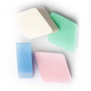 DONEGAL GĄBKA KOSM.do makijażu kolorowe romby 4,5x4,5x2cm (4306)  1op.-4szt