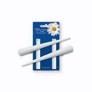 Top Choice Akcesoria do włosów White Spinki dzioby (25105) rozm.L  1op.-2szt