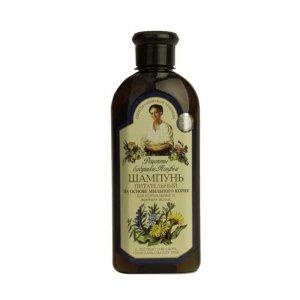 Receptury Babuszki Agafii Szampon odżywczy do włosów tłustych 350 ml